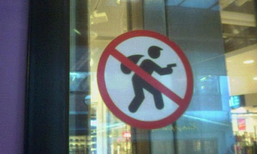 No burglars allowed: the worst city signs