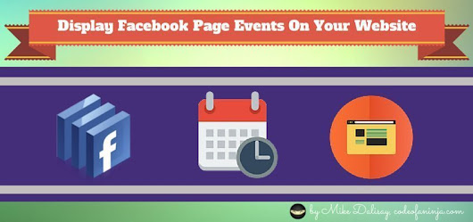 Display Facebook Events On WordPress Or Your Website
