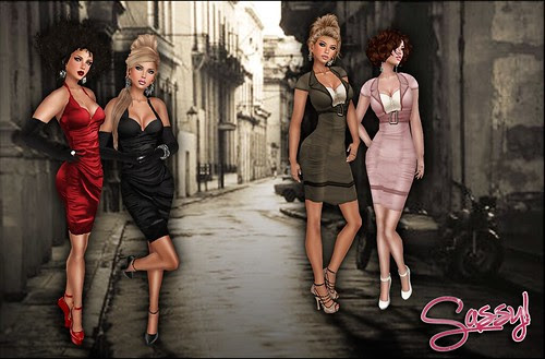 Vintage Fair 2012 - Bombshell and Wiggle dresses
