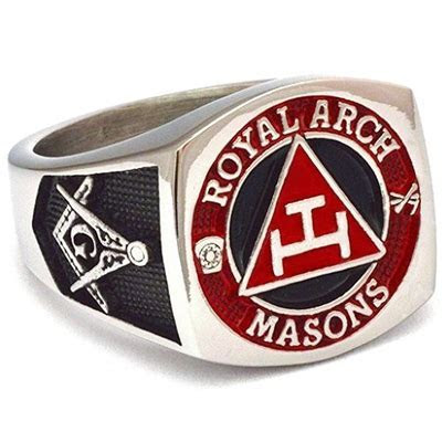 York Rite Royal Arch Degree Master Mason Masonic Ring