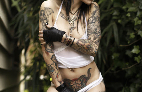 Tattooed Girls (11)