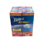 Ziploc Slider Storage Bags - 160 Count - Quart