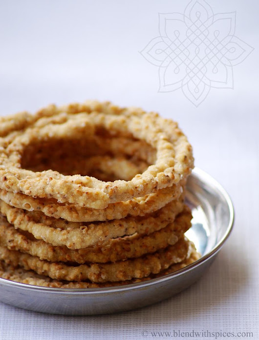 Sakinalu Recipe - Traditional Telangana Recipes for Makara Sankranti