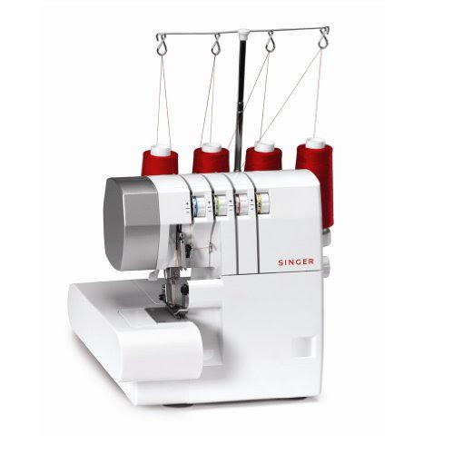 Ofphantombank Blogspot: SINGER 14CG754 ProFinish 2-3-4 Thread Serger With Machine Intro DVD