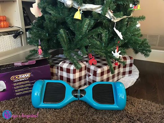 Gotrax Hoverfly Review - #EBHolidayGiftGuide - EnzasBargains.com