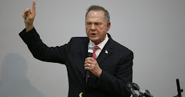 Roy Moore is teaming up with Rush Limbaugh to frame Mitch McConnell