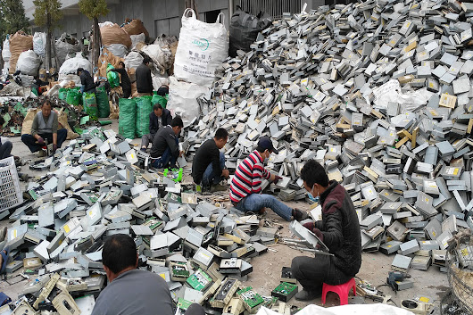 Gadget boom sees e-waste in Asia spike 63 per cent in 5 years