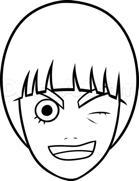 draw rock lee easy step  step naruto characters