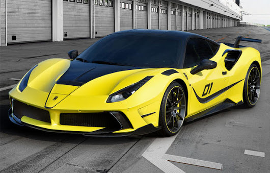 Ferrari 488 GTB Body Kit and Powerkit by Mansory