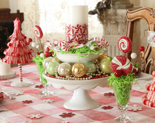 35 Christmas Centerpieces for Holiday Table | Ultimate Home Ideas