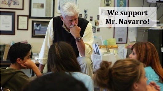 David Grissom: Principal David Grissom: Reverse Mr. Navarro's Administrative Leave NOW