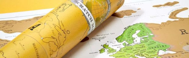 The Original Scratch Off Map - Personalized World Travel Map of Your Own
