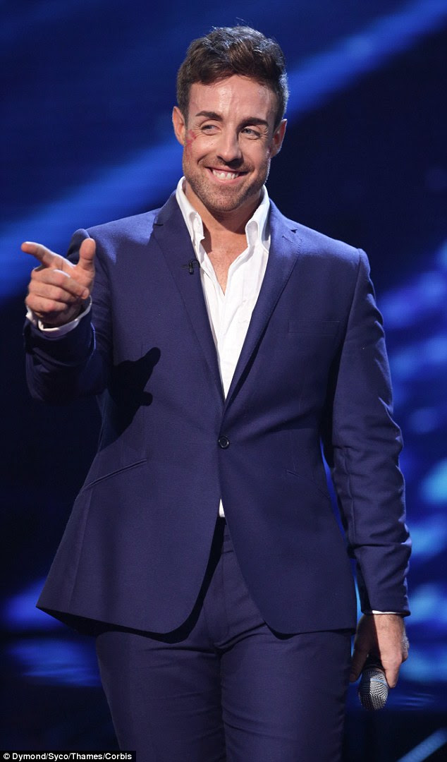 Scandal: News of the split came after it was claimed that she had a fling with fellow contestant Stevi Ritchie