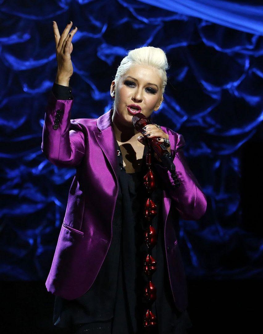 Hurricane Sandy Telethon, Christina Aguilera