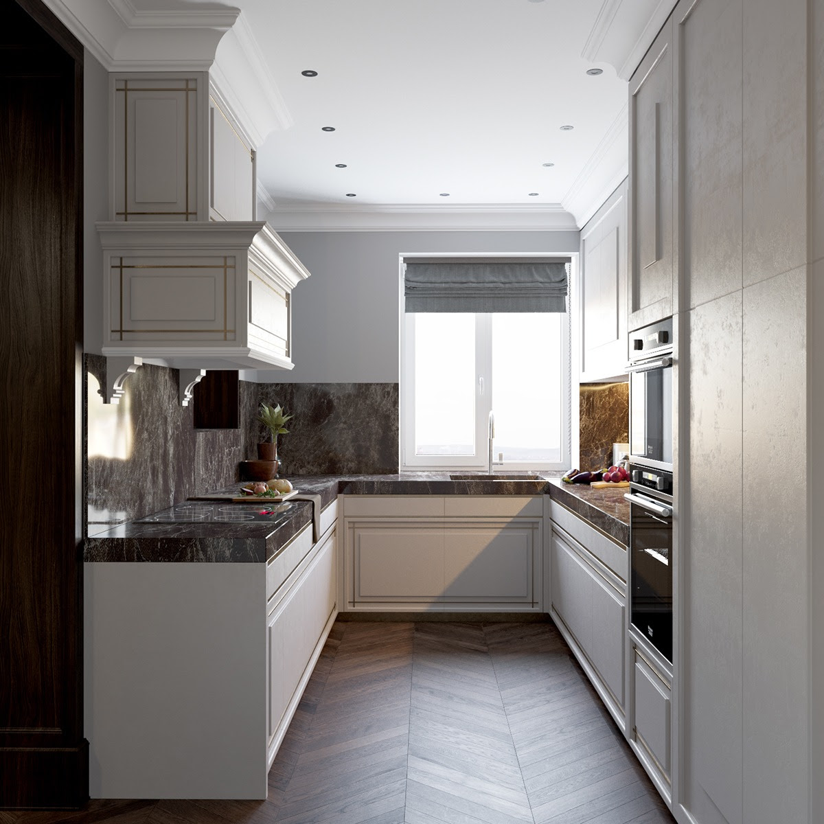 Home Architec Ideas Art Deco Kitchen Design