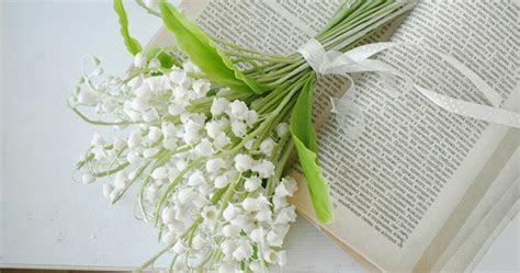 Lily Of The Valley Wedding Bouquet   Handmade With Love
