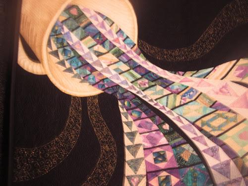 """Spilling Over"" by Sharon L. Scholotzhauer, close up"