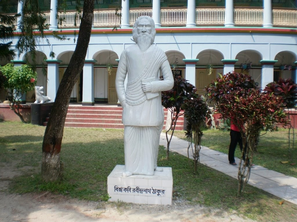 Statue of Rabindranath tagore at Niribili Picnic Spot Lohagara Narail District Greater Jessore 1 1024x768