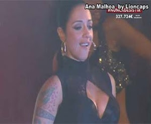 Ana Malhoa sensual na novela Destinos Cruzados