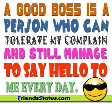Quotes About Good Boss 48 Quotes