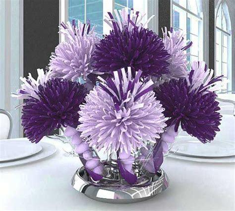 Purple Bridal Shower Decorations     Unique Shower