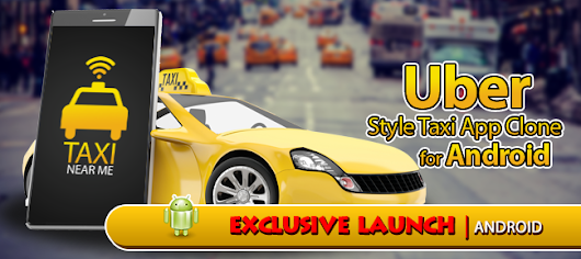 Buy Uber Clone Taxi Near Me source code Android | AppnGameReskin