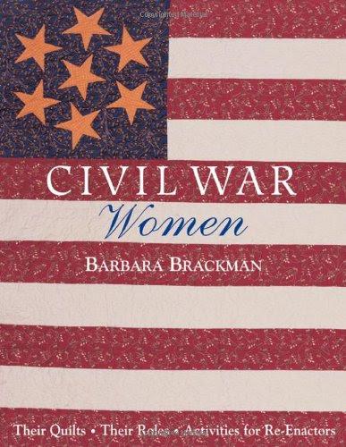 Cover Image: Civil War Women by Barbara Brackman