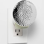 Warming Oil Plug-In Silver Hammered Round Shade - Opalhouse