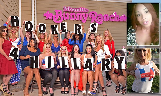 Hookers for Hillary prepares for Nevada caucus: Sex workers who have backed Clinton from