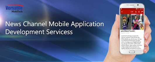 Best News Channel Mobile Application Development Services in London