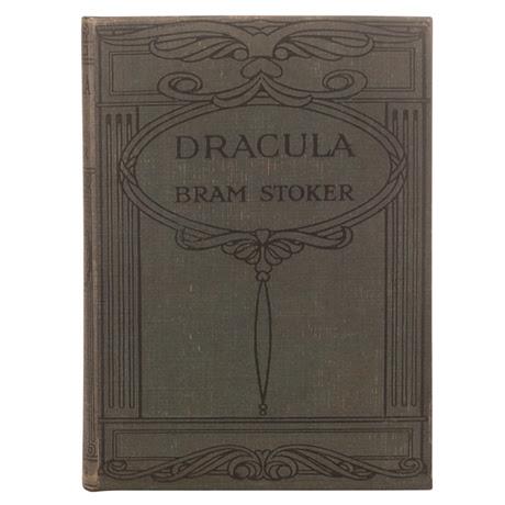 Vintage Book Kindle Case - Dracula