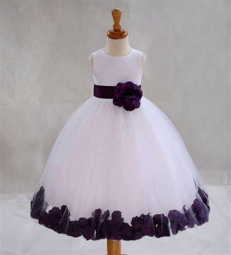 flower girl dress wedding bridesmaid birthday pageant