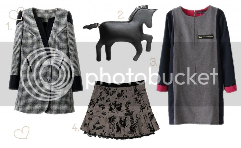fashion blogger Linz Choies wishlist Choies clothes fall winter coat jumper unicorn handbag