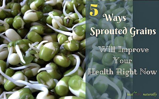 5 Ways Sprouted Grains Will Improve Your Health Right Now | healYOUnaturally