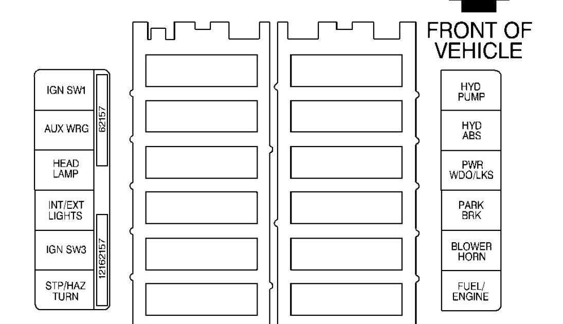 1995 Gmc Sonoma Fuse Box | schematic and wiring diagram