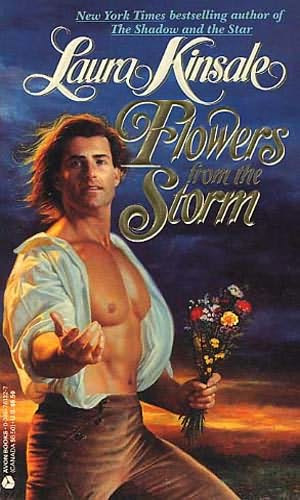 book cover of  Flowers from the Storm  by Laura Kinsale