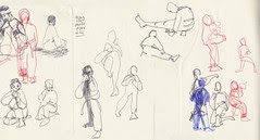 November 2013: Life Drawing Class