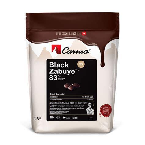 Black Zabuye Couverture Chocolate Buttons   Dark Melting