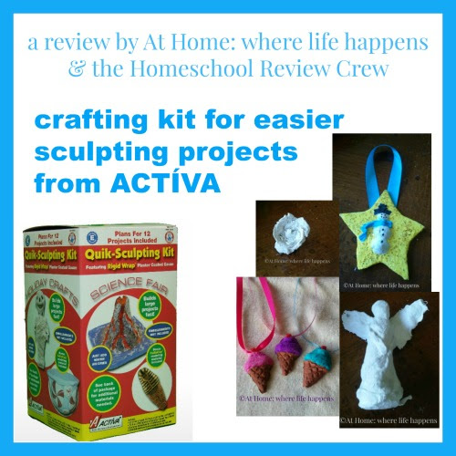 Paper Mache Help from ACTÍVA Products ~ a Crew review