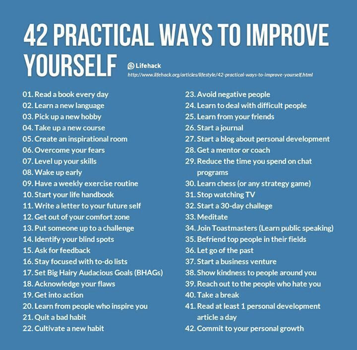 42 Practical Ways To Improve Yourself Pictures Photos And Images