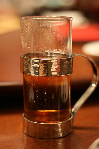 Anyone remember the old school Chinese restaurant metal holders for hot glasses of tea?