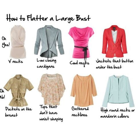Flattering Tops For Big Busts