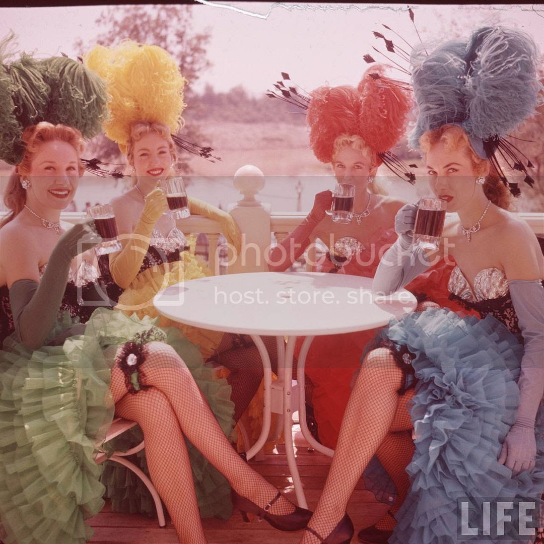 Amazing LIFE Magazine Pictures of Disneyland on Opening Day ! - Part Three : Frontierland
