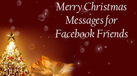 Merry Christmas For facebook Message Post 2016 ( Wishes , SMS )