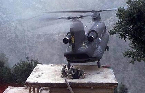 Helicopter face