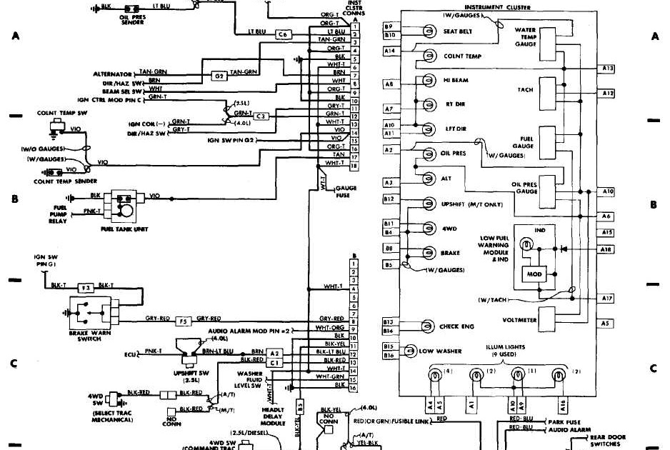 Need A Wiring Diagram For 2000 Grand Cherokee Laredo