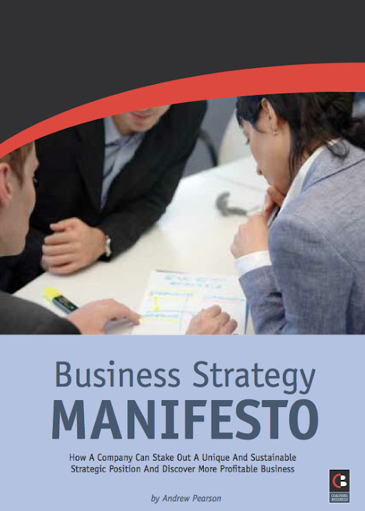 New! The Business Strategy Manifesto