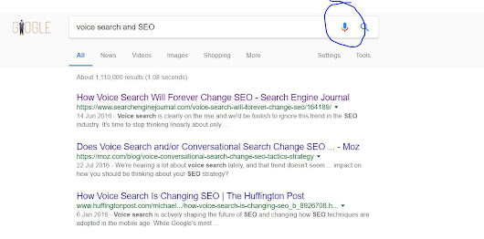 The Furute of search is Voice Search - what can I do to make my website voice search freindly