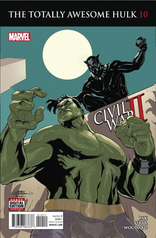 - • 2016.09.28 - Totally Awesome Hulk #10 - check out the preview! -