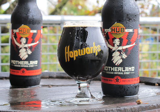 Organic Motherland Russian Imperial from Hopworks - Bomber Jacket